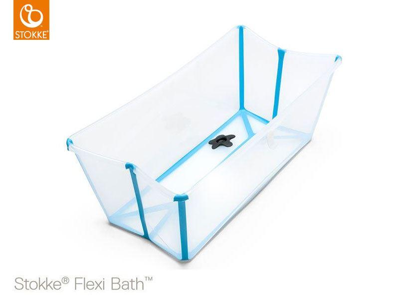 Vasca Da Bagno Stokke : Flexi bath trasparente paradiso del bimbo