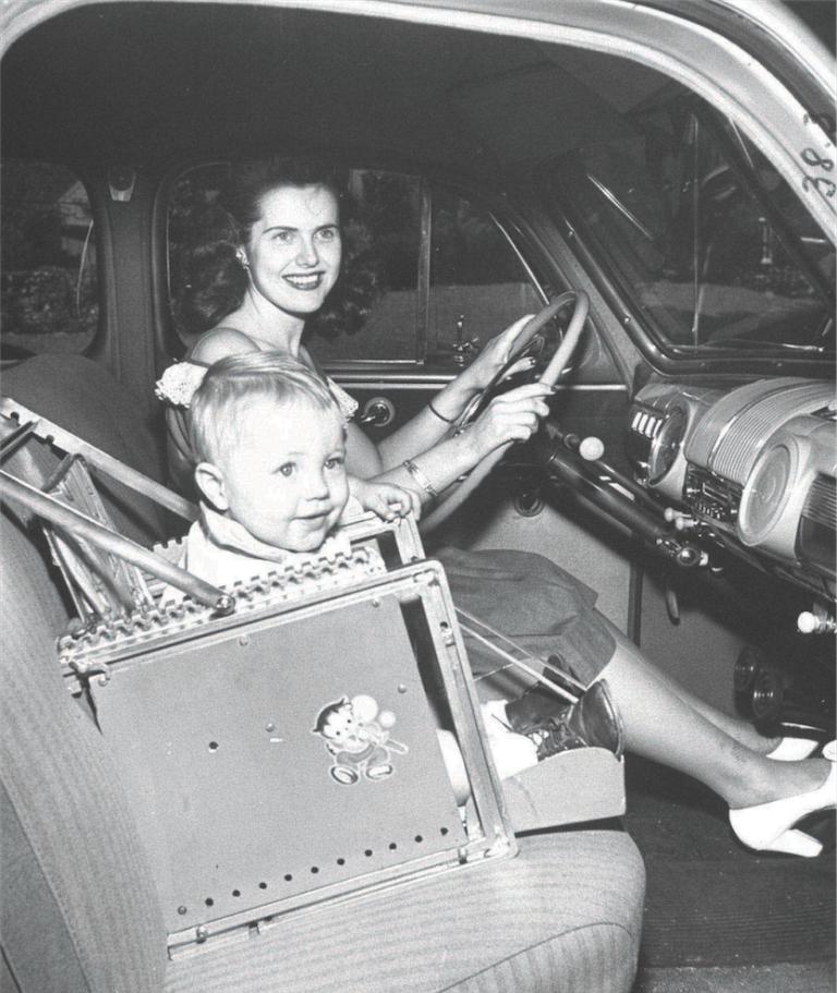 seggiolini auto storia